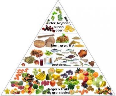 mat med karbohydrater og proteiner